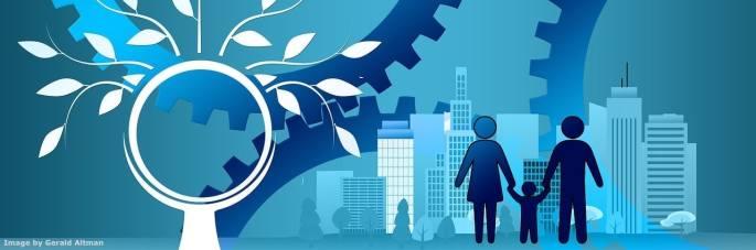 La Societa' 5.0 applica la tecnologia e l'ingegneria per risolvere molte sfide – tra cui l'invecchiamento della popolazione e la carenza di forza lavoro specializzata - e creare un futuro con la persona al centro