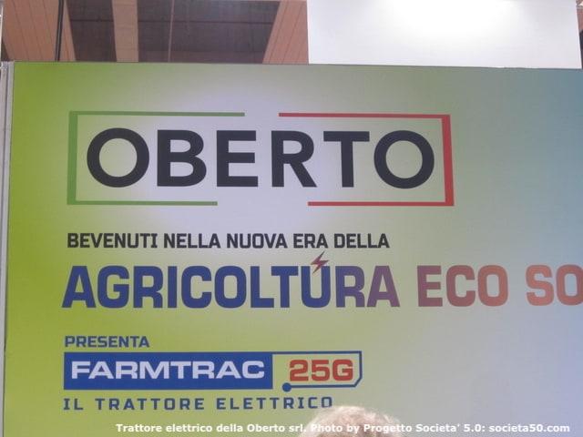 Agricoltura ecosostenibile: un giusto riconoscimento al trattore Farmtrac della Oberto – l'azienda e' stata disponibilissima